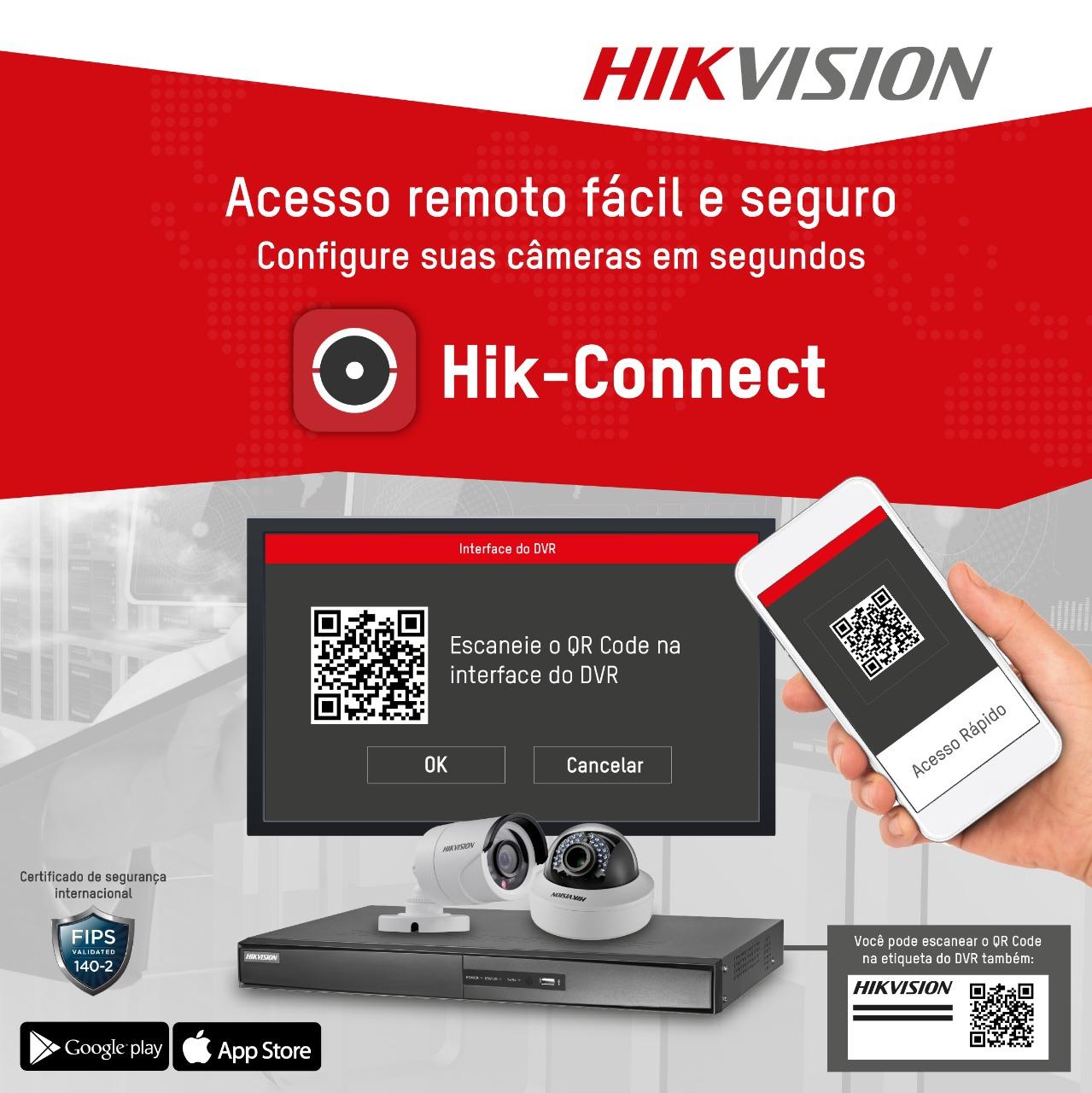 Tudo sobre acesso remoto e Hik-Connect (atualizado)